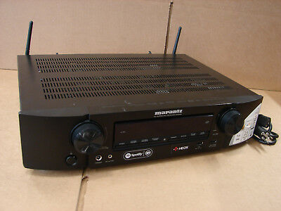 Marantz NR1608 7.2 Channel Full 4K  Receiver - **SOLD AS IS**  PARTS OR REPAIR!