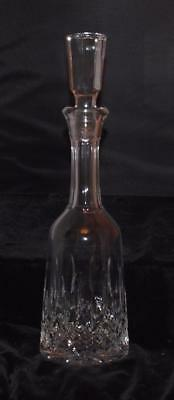 """Waterford Crystal Lismore  Decanter w/ Octagonal Stopper -14 3/4""""H- Excellent"""