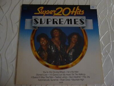 LP, The Supremes, 20 Super Hits 60er , neuwertig