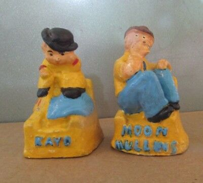 Chalkware Salt & Pepper Shakers - Moon Mullins & Kayo