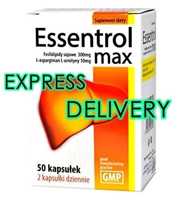 ESSENTROL MAX /Essentiale MAX 50 caps (500mg)Double Liver Support,No Side Effect