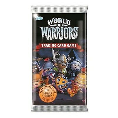 Booster 5 Cartes World Of Warriors Cartes Numeriques A Collectionner