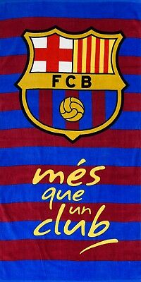 EXTRA LARGE - New Barcelona Football Club Beach Bath Towel Boys Kids Fans Gift