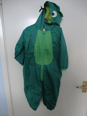 BLUE ZOO Boys DINOSAUR  PUDDLE / SPLASH SUIT All In One. SIZE 18-24 Months