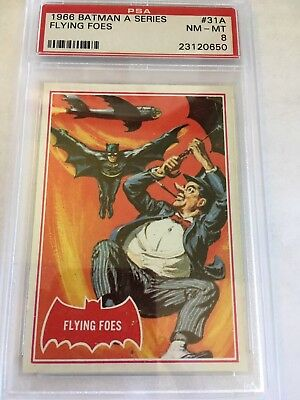 1966 Batman #31A Flying Foes ** PSA 8 NM-M