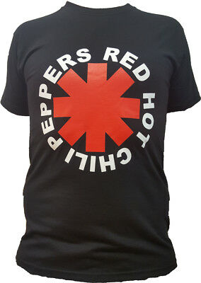 T-shirt RED HOT CHILI PEPPERS Maglia Rock Registrata ed Approvata Music