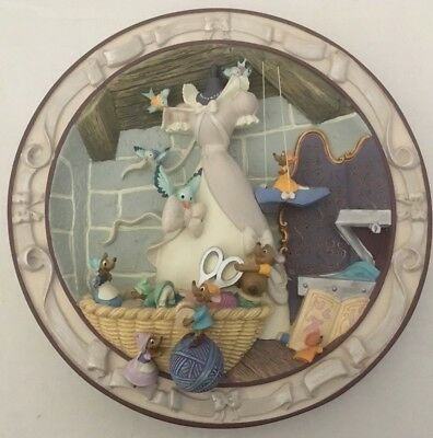 """Disney 3D Plate CINDERELLA - """"We Can Do It"""" #49"""