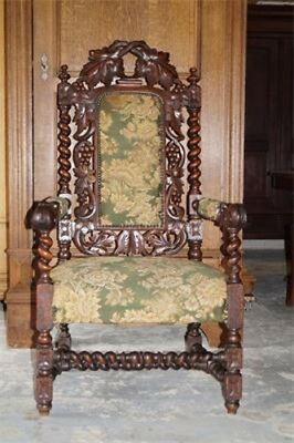 Game of the Thrones - style, Kings hunting chair. Free shopping