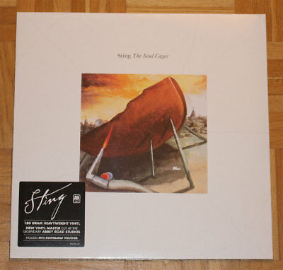Sting: The Soul Cages. 180 Gram Vinyl. New Item Still Sealed. With Mp3 Voucher