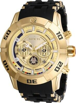 Invicta 26549 Star Wars Men's Chronograph 50mm Gold-Tone Steel Fold Dial Watch