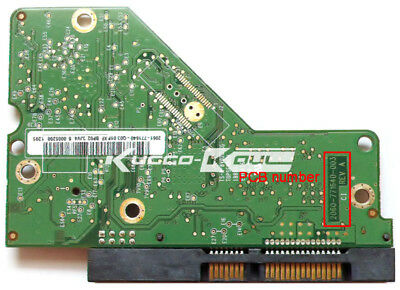 HDD PCB circuit board 2060-771640-003 REV A/P1 for WD 3.5 SATA hard drive repair