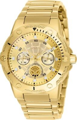 Invicta 26982 Marvel Women's Day-Date 24H 39mm Gold-Tone Spiderman Watch