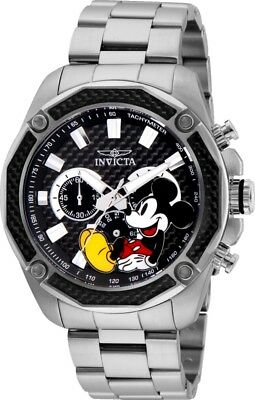 Invicta 27351 Disney Limited Edition Men's Chronograph 48mm Steel Black Dial