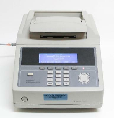 ABI Applied Biosystems GeneAmp PCR System 9700 Thermal Cycler 96 Well 4552)