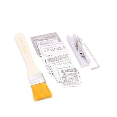 for Laptop Nvidia Chip 36 pcs /set Bga Reballing Stencil Tample Kit+jig+brush