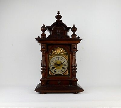 Antique Junghans Mantel Bracket Table Clock