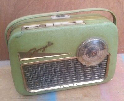 Philips Portable Valve Radio With Vhf.