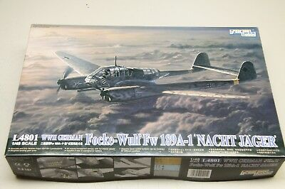 Great Wall Hobby, Fw-189A-1 Nacht Jäger in 1/48