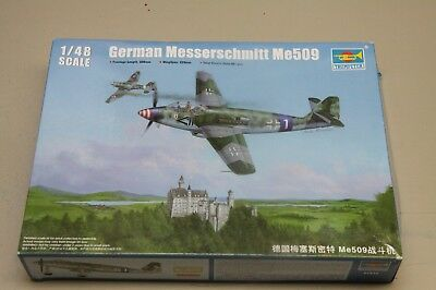 Trumpeter, German Me-509 in 1/48