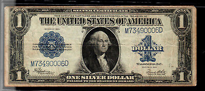 Series 1923 One Dollar Silver Certificate - Nice circulated