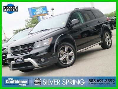 2017 Dodge Journey Crossroad 2017 Crossroad Used 3.6L V6 24V Automatic AWD SUV Premium