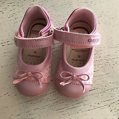 Chaussures Geox Babies Rose Taille 18