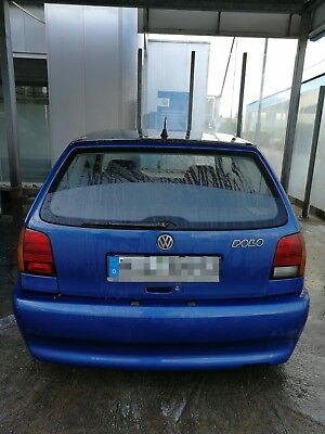 VW polo 6 N -blau Metallic Schiebedach-