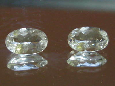 TOPAZ gemstones, Oval CUT NATURAL AUSTRALIAN TOPAZ gemstones