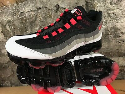f70f6ec8a4 Nike Air Vapormax 95 Hot Red Pewter Granite Comet Max Men's AJ7292-101 NEW  2018