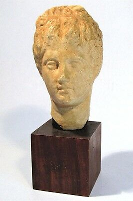 Ancient Greek God Hermes Bust Alva Museum Replica  Boston Museum Of Fine Arts