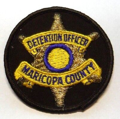 Old Maricopa County Arizona Detention Officer Patch Unused