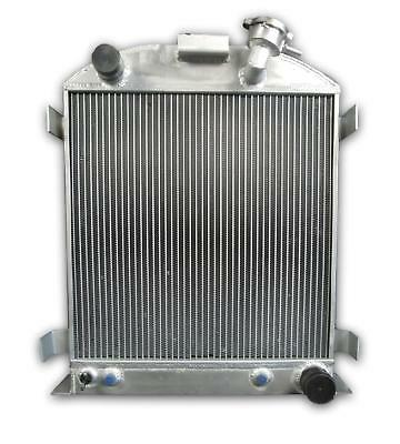 OPL HPR072 Aluminum Radiator for 1932-1939 Ford Model A Chevy V8 AT Chopped