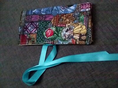 Handmade Tarot Bag Opens to a Spreadcloth   Beautiful Fairy Tale Fabric