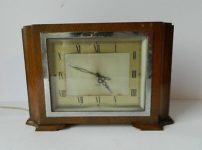 Vintage Art Deco Smiths Sectric Electric Clock GWO