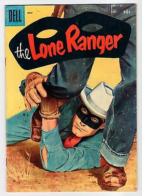 Dell THE LONE RANGER #97 July 1956 Vintage Comic
