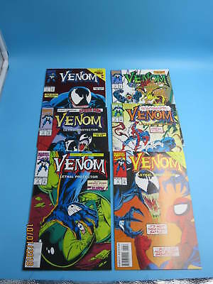 VENOM LETHAL PROTECTOR 1 2 3 4 5 6 #1-6 complete run Marvel Comics First RIOT