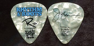 RASCAL FLATTS 2016 Rhythm Tour Guitar Pick JAY DeMARCUS custom concert stage #2