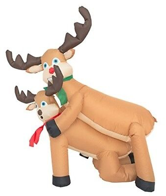 Inflatable Airblown Indoor and Outdoor Christmas Decoration 4ft Humping Reindeer