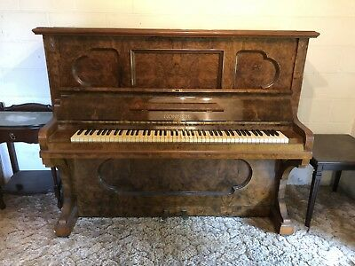 BEAUTIFUL ANTIQUE PIANO In Tune And Pick Up CROYDON MELB Estate Piece