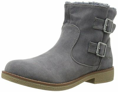 ROCKET DOG TIMMY HUSH ANKLE Boots WOMENS size 7 NEW CHARCOAL GREY