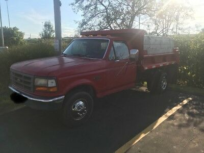 1995 Ford F-350  Ford F-350 One Ton Dump Truck