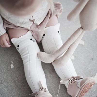 Fashion Toddler Baby Girl Casual Cotton Long Socks Knee High Socks for 0-4 Years