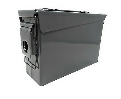 Genuine US Military 30 Cal Ammo Can M19A1 7.62mm .30 Caliber Gray