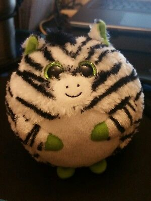 TY-Beanie-Ballz-Plush-Oasis-the-Zebra-5in