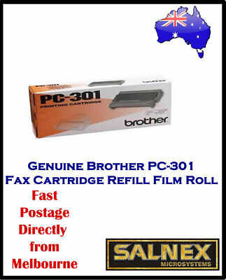 Genuine Brother PC-301 Fax Cartridge Refill Film Roll For Brother FAX870MC