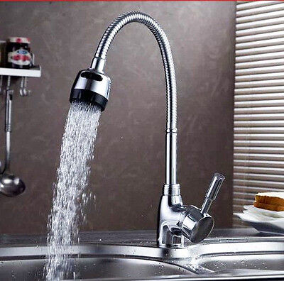 Spray water Faucet Polished Chromed Kitchen Washing Filler Basin Mixer Faucet