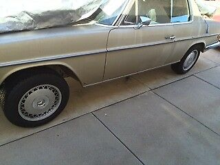 1971 Mercedes-Benz 200-Series  1971 Mercedes 250C w114 parts car, NO TITLE, read updates at bottom of descripti