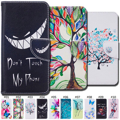 Card Slot PU Leather Flip Stand Wallet Magnetic Skin Case Cover For LG K10(2016)