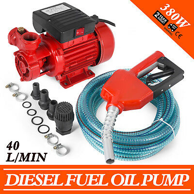 Oil Suction Pump transfer Diesel Fuel Pump 40L/min 1.6A 20M 50Hz 230V