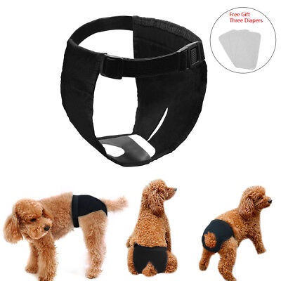 Washable Pet Dog Physiological Pants Diaper Panties Underwear Female Dog Pets